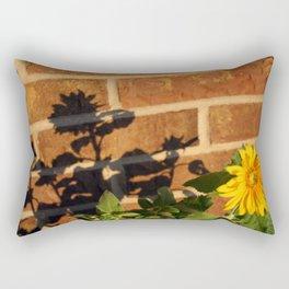 My Sunflower, Julia #3 Rectangular Pillow
