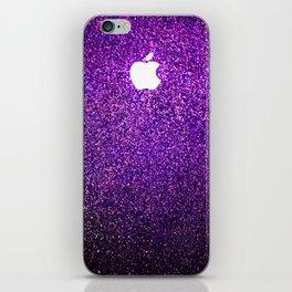 purple shimmer burst iPhone Skin