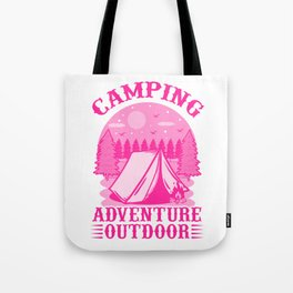 Camping Adventure Outdoor mag Tote Bag