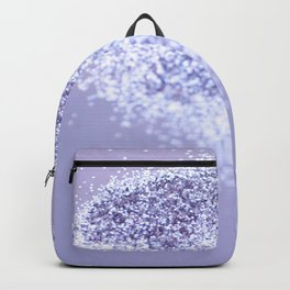 Sparkling Violet Glitter #1 #sparkling #decor #art #society6 Backpack