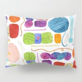 Yarn Love Pillow Sham