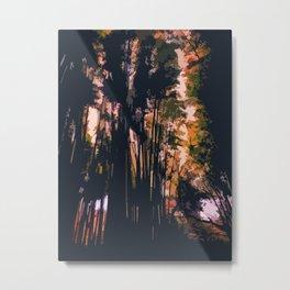 Mysterious Komorebi Metal Print