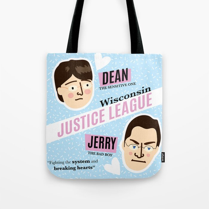 Dean Strang & Jerry Butin - Wisconsin Justice League Tote Bag