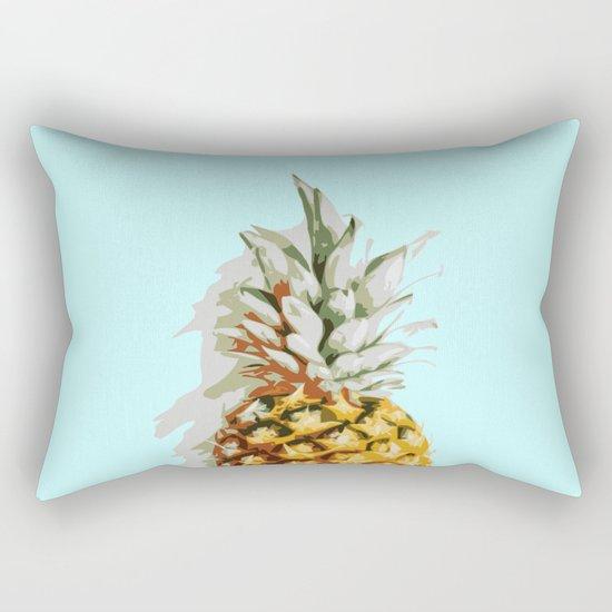 Summer Ananas Rectangular Pillow