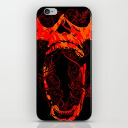 Chaos and Clarity ~ Red iPhone Skin