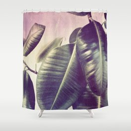 Ficus Elastica #2 Shower Curtain