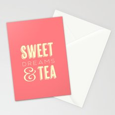 Sweet Dreams & Tea Stationery Cards