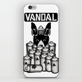 RAD VANDAL and SPRAY CANS iPhone Skin