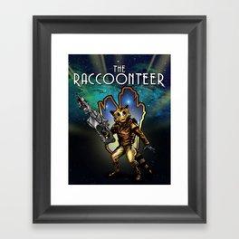 The Raccoonteer Framed Art Print