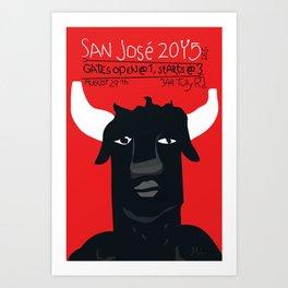 Toiro Art Print