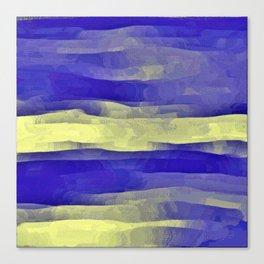 Sun Rays, Wind and Cobalt Sky Abstract Canvas Print