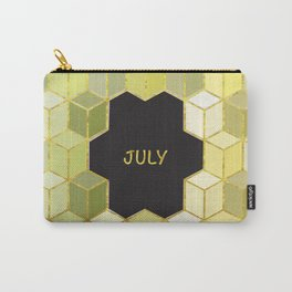 Cubes Of July Carry-All Pouch