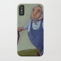 Walking iPhone X Slim Case