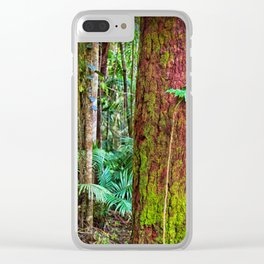 New and old rainforest growth Clear iPhone Case