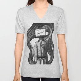 Head for a Vice Unisex V-Neck