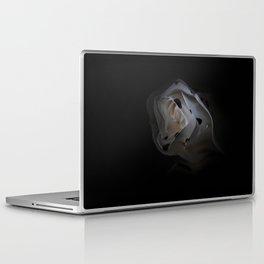 White Wave Rose Laptop & iPad Skin