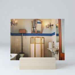 Royal Bathroom Chapultepec Castle CDMX 35mm Film Mini Art Print