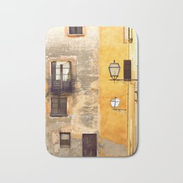 Yellow and Old Wall Bath Mat