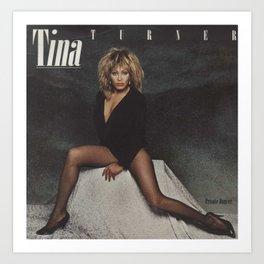 Tina Anna Mae Bullock Ike Turner Society6 Online Shopping - Music Icon - Ⓢ.в.乇.⑦⑧ Ⓜⓘⓛⓛⓨ EE3 Art Print