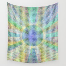 Surya Invocation (Sun) #2 - Magick Square Yantra Tantra Wall Tapestry