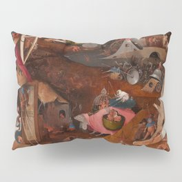 "Hieronymus Bosch ""The Last Judgment"" triptych (Bruges) cental panel Pillow Sham"