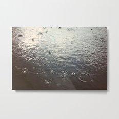 Raindrop #1 Metal Print