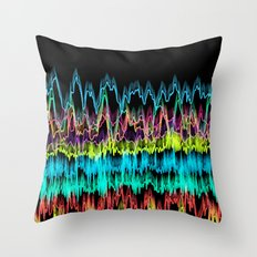 waves2 Throw Pillow
