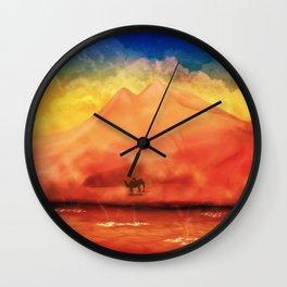 Desert Hot Wall Clock