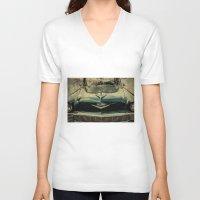 tame impala V-neck T-shirts featuring Chevy Impala by Honey Malek