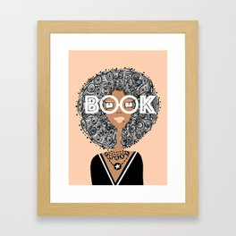 Book Smart Framed Art Print