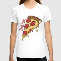 pizza T-shirts featuring Pizza by jeff'walker