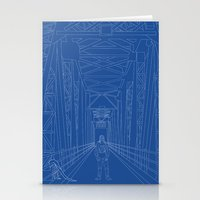 blueprint Stationery Cards featuring Blueprint by Sophie Broyd