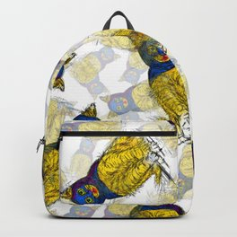BAT CAT Pattern 1 Backpack