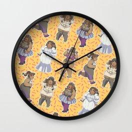 Fatshion! Wall Clock
