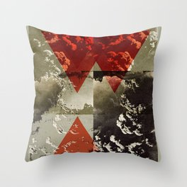 Dominance III Throw Pillow