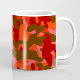 Camouflage (Red) Coffee Mug