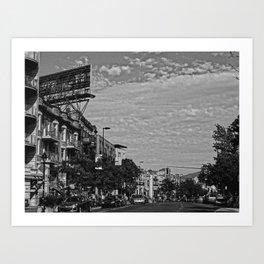 Mile-end Art Print
