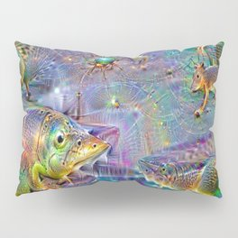 Under the stars on the Sandstone road Pillow Sham