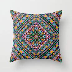 Triangle Takeover Throw Pillow