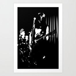 The Guitar. Art Print