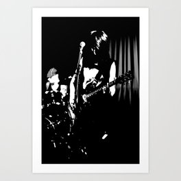 The Guitar. Art Print