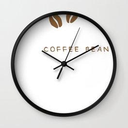 My Birthstone Is A Coffee Bean Wall Clock