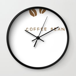 My Birthstone Is A Coffee Bean Wall Clock