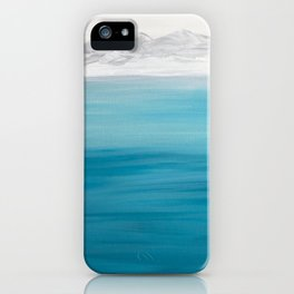 Arctic Mountains iPhone Case