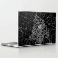 kentucky Laptop & iPad Skins featuring Lexington map Kentucky by Line Line Lines