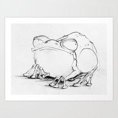 Toad Art Print