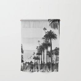 Los Angeles Black and White Wall Hanging