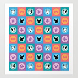 Frenchies Art Print