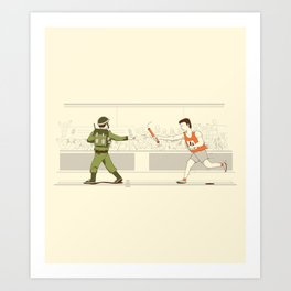 Race of War Art Print
