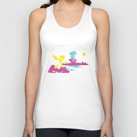 teen titans Tank Tops featuring Titans Go! by TerraBlack